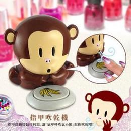 Wholesale Piece New Cute Unique New Monkey Fingernails Polish Blower Dryer