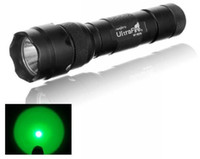 Wholesale high quality UltraFire B W Green Light Lumens CREE LED Flashlight