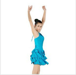 Wholesale Latin Ballroom dance Latin skirts practice skirt suit Dress pleated skirt performing dances skirt