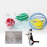 Wholesale Drop Shipping Pet Cat Kitten Gift Funny Play Toys Mouse Ball