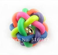 Wholesale Promotion Pet toy Rainbow Balls pet products Pets toys with price