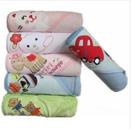 Wholesale Practical Fashion Cartoon pca a Baby Blanket Bath Towel Baby Quilt