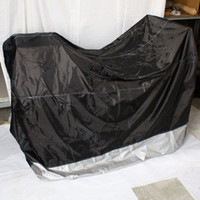 against weather, dirt and pollutants bike cover - Motorcycle Covers Bike Cover Up Black Down SIlver M Size