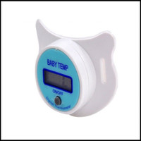 Wholesale Pacifier type electronic thermometer baby nipple Digital Thermometer safe new hot NZ5