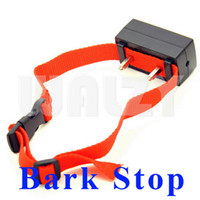 Static & Vibration bark big lots - 100pcs Automatic Dog Anti Bark Stop Barking Collar for large big Dog Shock