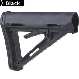 Wholesale Good Tactical Plastic Drop in Replacement Butt Stock Carbine Stock for M4 M16 AEG Series black