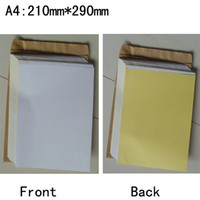 Wholesale Blank A4 Glossy Paper Label Sticker Self Adhesive x15 Sheets mm x mm