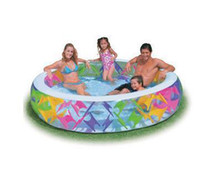 Cheap Summer Swimming Adult Pool INTEX 56494 Windmill Baby Pool Kids Bath Tub 229*56CM Inflatable Childred