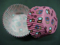 Wholesale 500pcs shoe amp bag amp mirror girl s gift cupcake liners baking paper cup muffin cases for party