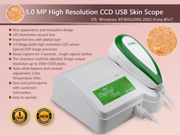 Wholesale NEW MP High Resolution USB Skin Scope Analysis Analyzer Skin Analysis Skin Analyzer