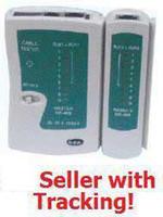 Wholesale RJ45 RJ11 RJ12 CAT5 UTP NETWORK USB LAN CABLE TESTER
