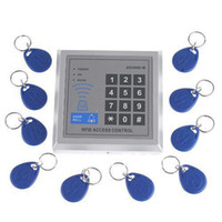 Wholesale RFID Proximity Entry Door Lock Access Control System with Key Fobs Retail Drops