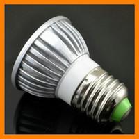 Wholesale High Power W LED Spotlight Bulb Lamp Downlight Lumen White warm white E27 GU10 MR16 cheaporder