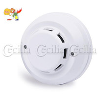 Wholesale for fire Wired Photoelectricity Sensor Smoke Alarm battery detector cheap SS144944