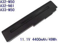 Wholesale Replacement Battery Pack for Asus A32 M50 A32 N61 N61JA N61W N43 N61 BATTERY