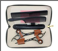 Wholesale Black Hair Scissors and Thinning Scissors SMITH CHU INCH