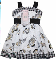 Wholesale 2012 New fashion monnalisa dress Girls dress kids clothing spring autumn suspender skirt