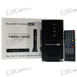 Wholesale Geniatech Supera Color HD Standalone External TV Tuner Box for LCD Monitors Max Res