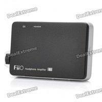 Wholesale Fiio E11 Portable Headphone Amplifier Black x BL B