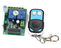 Wholesale Free Ship DC V Fixed Code Encoding Remote Control Switch Control Transmitter