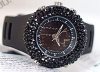 Wholesale 2012 HOT new Korean fashion diamond women s watch decorated watches full diamond women s watch
