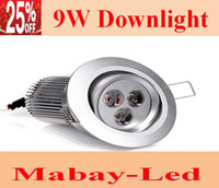 Wholesale High Power W Led Recessed Down Lights V Angle K Warm White Led Fixture Ceiling Lamp