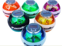 Wholesale power Ball Gyroscope LED Wrist Strengthener Ball Speed Meter Counter Spin Ball wrist Ball