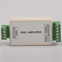 Wholesale Small RGB Amplifier LED Controller DC5V V V Optional Channels can receives PWM Pulse Width Modulation