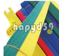 Wholesale free ship new martial arts belt Karate Taekwondo belt Judo Jiu jitsu tae kwon do belt Karate Taekwondo tape