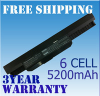 Wholesale New Laptop cell Battery A32 K53 for ASUS K53 K53E K53F K53U K53S K53SV mAh