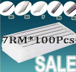 Wholesale PRO DISPOSABLE TATTOO NEEDLES RM SIZE Tattoo Needles For Tattoo Machine Kit Supply