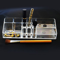 Wholesale Clear Acrylic Cosmetic Jewellery Organizer Makeup Box Case SF