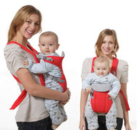 Wholesale New Front Back Baby Carrier Infant Backpack Sling Red Blue Comfort Months Baby Carry Belt