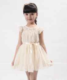 Wholesale Hot Baby girl dress kids girl lovely dress girls dress lady sleeveless dress