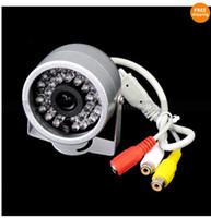 Wholesale 30LED IR Waterproof Color CCTV CMOS Surveillance Camera with Audio H647