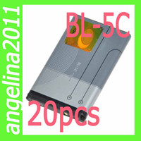 Wholesale 20pcs BL C C Super power cell phone battery For Nokia C2 C2 C2 X2