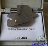 Wholesale HJC40B Welding Gauge Weld Bead Height Welding Seam Gap Ruler Gage MM