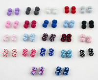 Wholesale silk knot cufflinks for shirt pairs per color more than color accept pair Via DHL Free ship