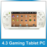 Wholesale 2pcs JXD S602 quot Touch Screen GB Game Console MP3 Video Player TV OUT Camera GAME