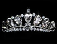 Wholesale 2017 High Quality Big Rhinestone Crystal Stunning Shinny Bridal tiara Pageant Tiara Crown Bridal Accessories