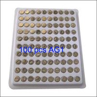 Wholesale 100pcs AG1 SR621 LR621 SR621SW LR60 SR60 Watch Button Cell Battery
