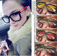 Wholesale New The Europe and the United States Retro glasses frames Fashion eyewear frame Nightclub