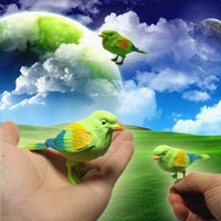 Wholesale novelty item children gift Lovely Bird voice control bird fantastic singin beinu