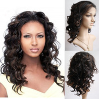 Wholesale Eton Brazilian Virgin Hair Lace Front Wig High Quality Inch Half Hand Tied B Fashion Wigs