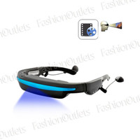 Wholesale 4GB Mobile Theatre Video Glasses Movies on Inch Virtual Screen enjoy the moive EL146803