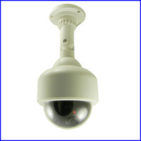 Wholesale 4 quot Realistic Looking Pseudo Fake Dummy Decoy Dome Security Camera Red Blinking LED HN37