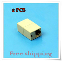 Wholesale RJ45 CAT5 CAT5E Network Ethernet Connector Adapter