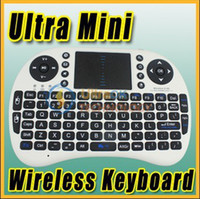 Wholesale 2 G GHz Mini Wireless Keyboard with Touchpad Google TV Box Media Control