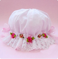 Wholesale Children Bud silk princess cap children caps baby hat girl hat baby hat