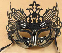 Wholesale party masks masquerade mask venetian mask women lady sexy masks half face braid mask colors